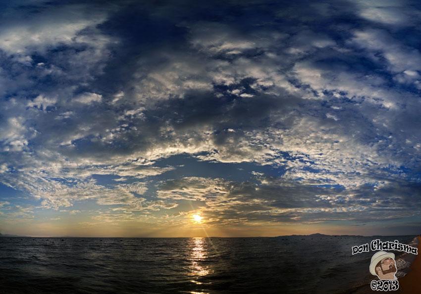 DonCharisma.org Huge Sky Sunset Panorama PTGui-4h-26P