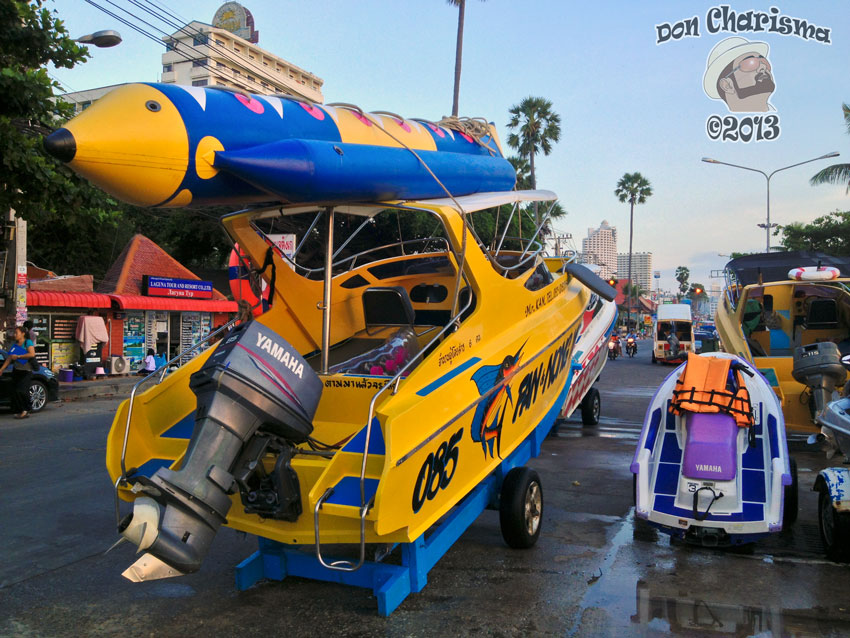 DonCharisma.org Speedboat Bananaboat And Jetski