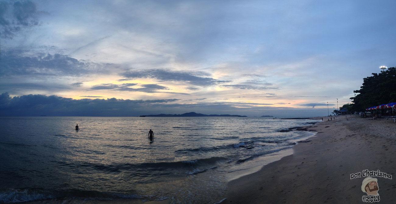 DonCharisma.org Sunset Beach Panorama 3 PTGui-(6w-x-1h-P)