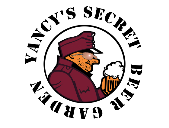 DonCharisma.org Yancy's Secret Beer Garden Logo Redux