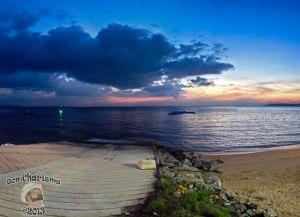 DonCharisma.org Slipway Sunset Panorama PS-5w-x-2h-P
