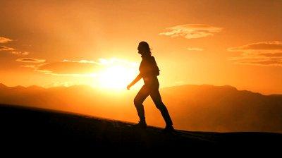 Sunset Climber