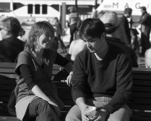 suzjones - Couple Talking