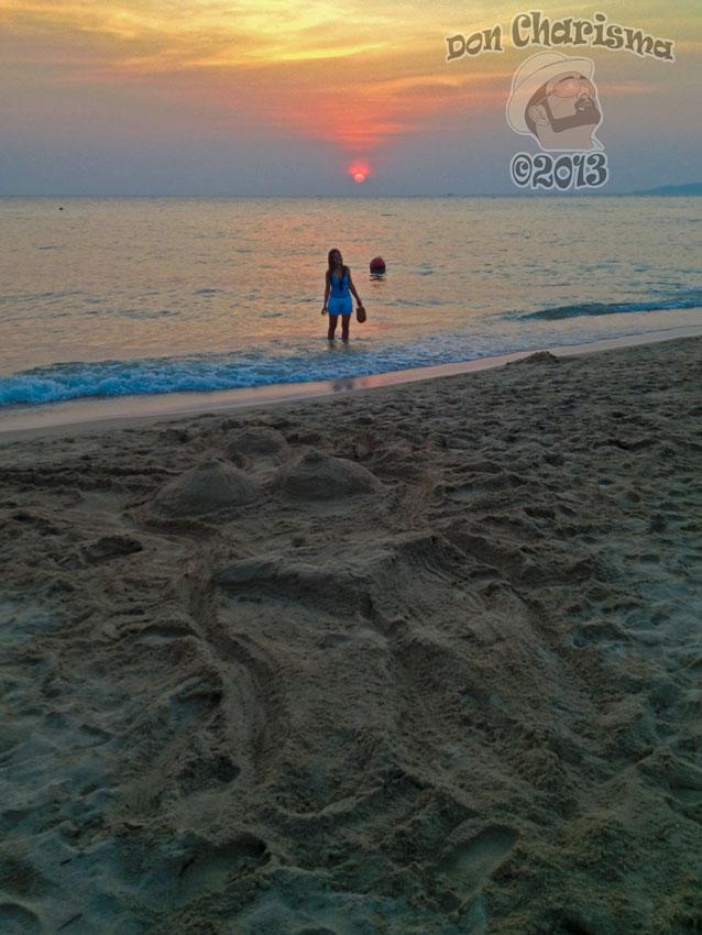 DonCharimsa.org Dream Or Reality Sand Sculpture