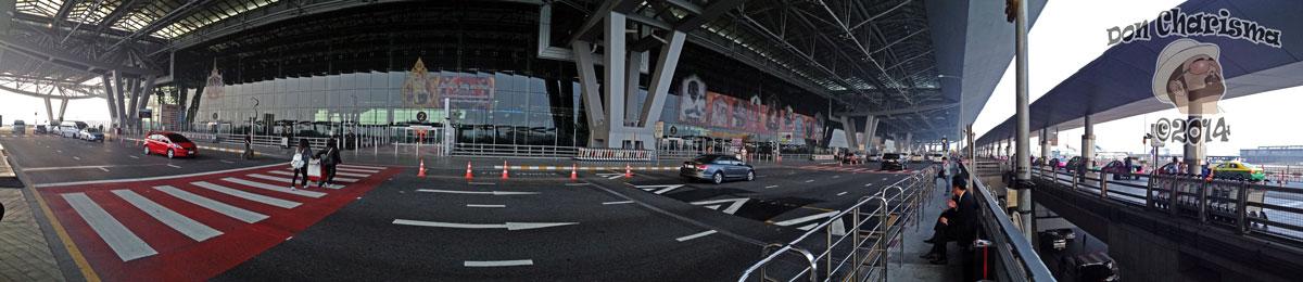 DonCharisma.org Bangkok Airport Suvarnabhumi Departures Pano iPhone