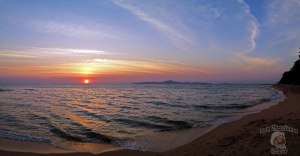 DonCharisma.org Beach Sunset Panorama 2 iPhone