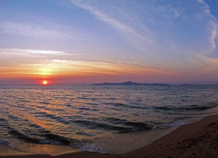 DonCharisma.org Beach Sunset Panorama 2 iPhone