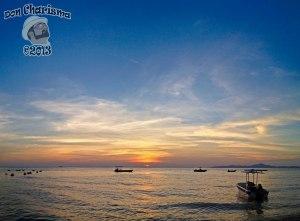 DonCharisma.org Boaty Sunset Panorama