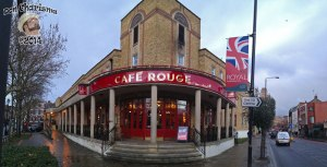 DonCharisma.org Cafe Rouge Greenwich iPhone Pano