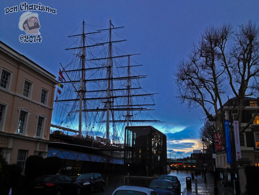 DonCharisma.org Cutty Sark Stormy Sunset
