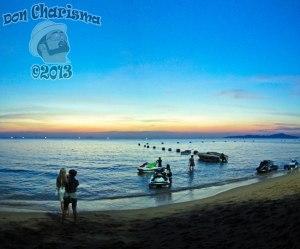 DonCharisma.org-Jetski-Beach-Sunset-Panorama-PS-3w-x-1h-P