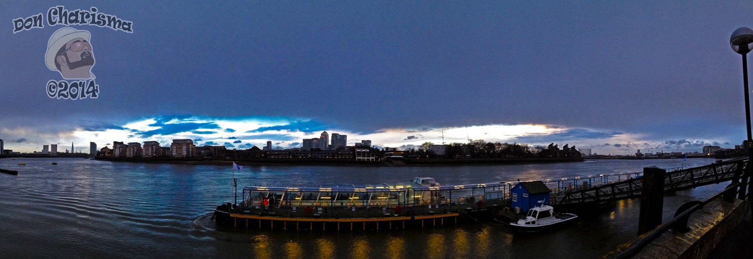 DonCharisma.org Stormy Sunset Greenwich Pier