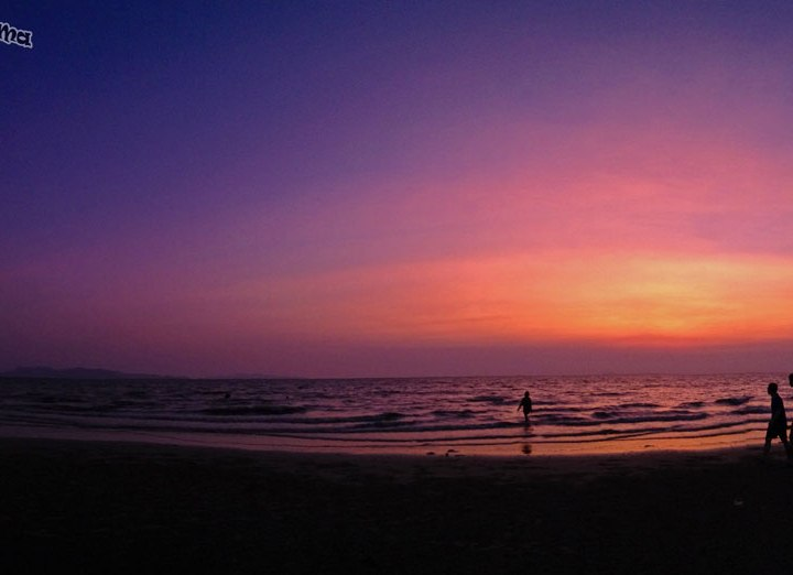DonCharisma.org Beach Sunset iPhone Pano