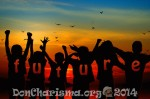 DON CHARISMA,children,silhouette,cheers,forward,positive,view,joy,light,bill,holidays,cheerful,enthusiasm,expectation,hope,future prospects,outlook,presentation,ray of hope,perspective,star,sunset,birds,clouds,sky,colourfull,wave,water,mirroring