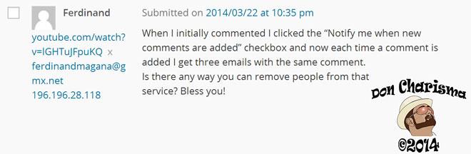 DonCharisma.org-Clever-Little-Spammer-Comment