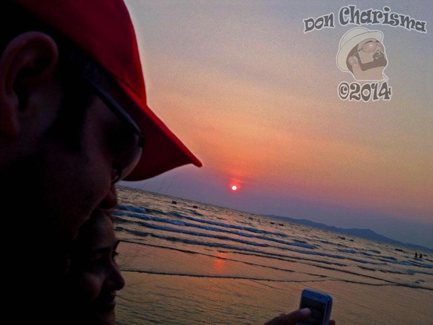 DonCharisma.org-Don-Charisma-Selfie-Beach-Sunset-1L