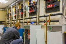 Don Charisma Engineer Fixing Boilers