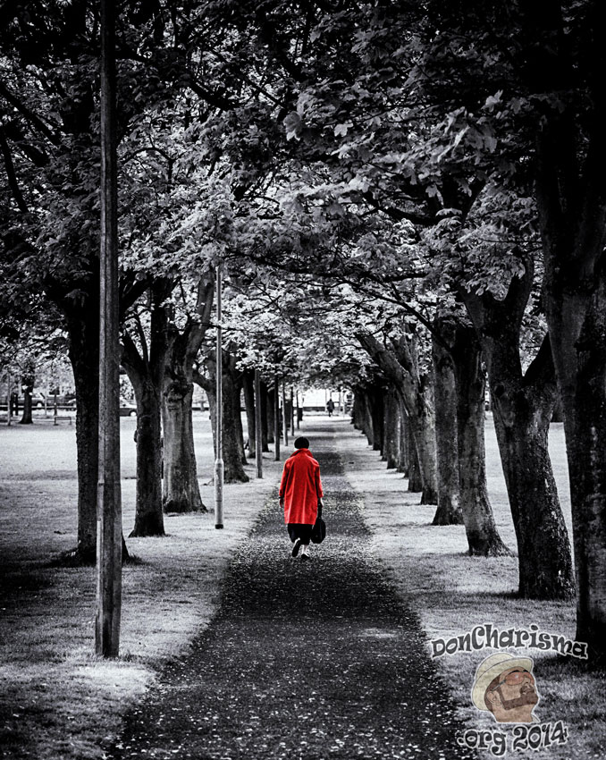 DonCharisma.org-Red-Coat-Lady-Winter-Park
