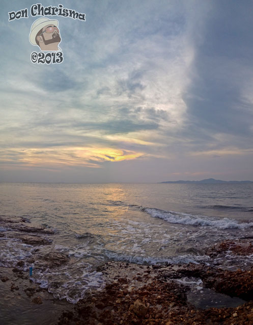 DonCharisma.org-Rocks-Ocean-Sunset-Panorama-PTGui-2w-x-2h-P