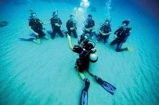 Don Charisma Teaching Divers