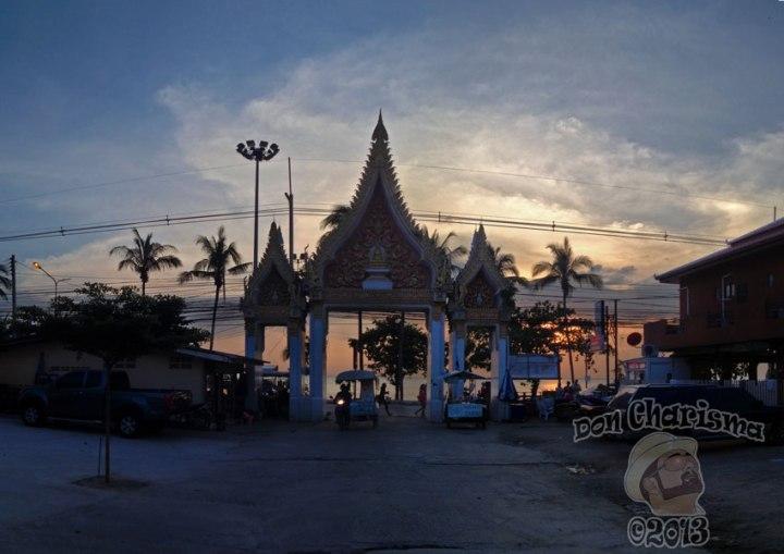 DonCharisma.org-Temple-Entrance-Sunset-3w-x-1h-P