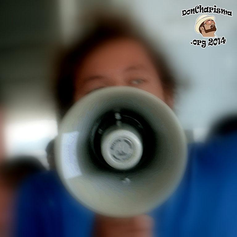 DonCharisma.org-Announcement-Megaphone
