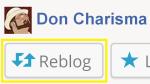 share, reblog, DON CHARISMA
