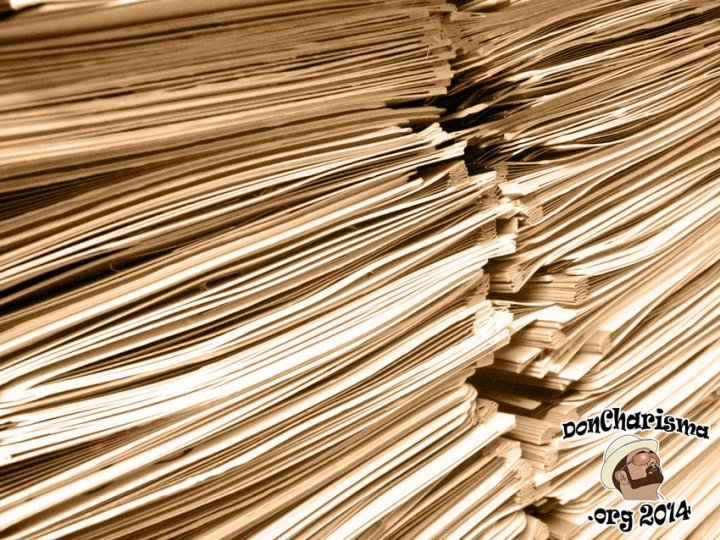 DonCharisma.org-Stack-Of-Papers