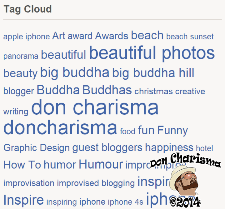 DonCharisma.org-Tag-Cloud