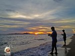 DonCharisma.org-Father-And-Son-Fishermen-Beach-Sunset