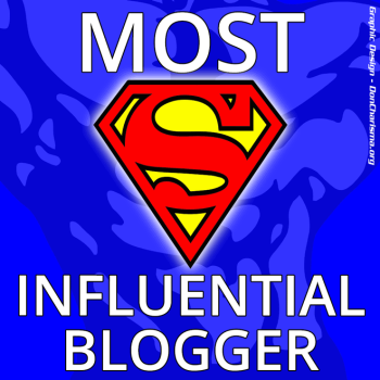 The Most Influential Blogger Award