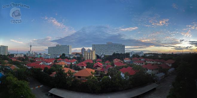 DonCharisma.org-Balcony-Sunrise-Panorama