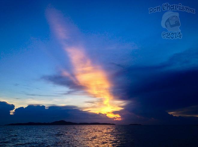 DonCharisma.org-Fire-Streak-Sunset