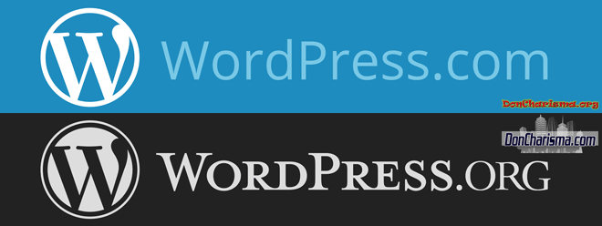 DonCharisma.org-WordPress.org-vs-WordPress