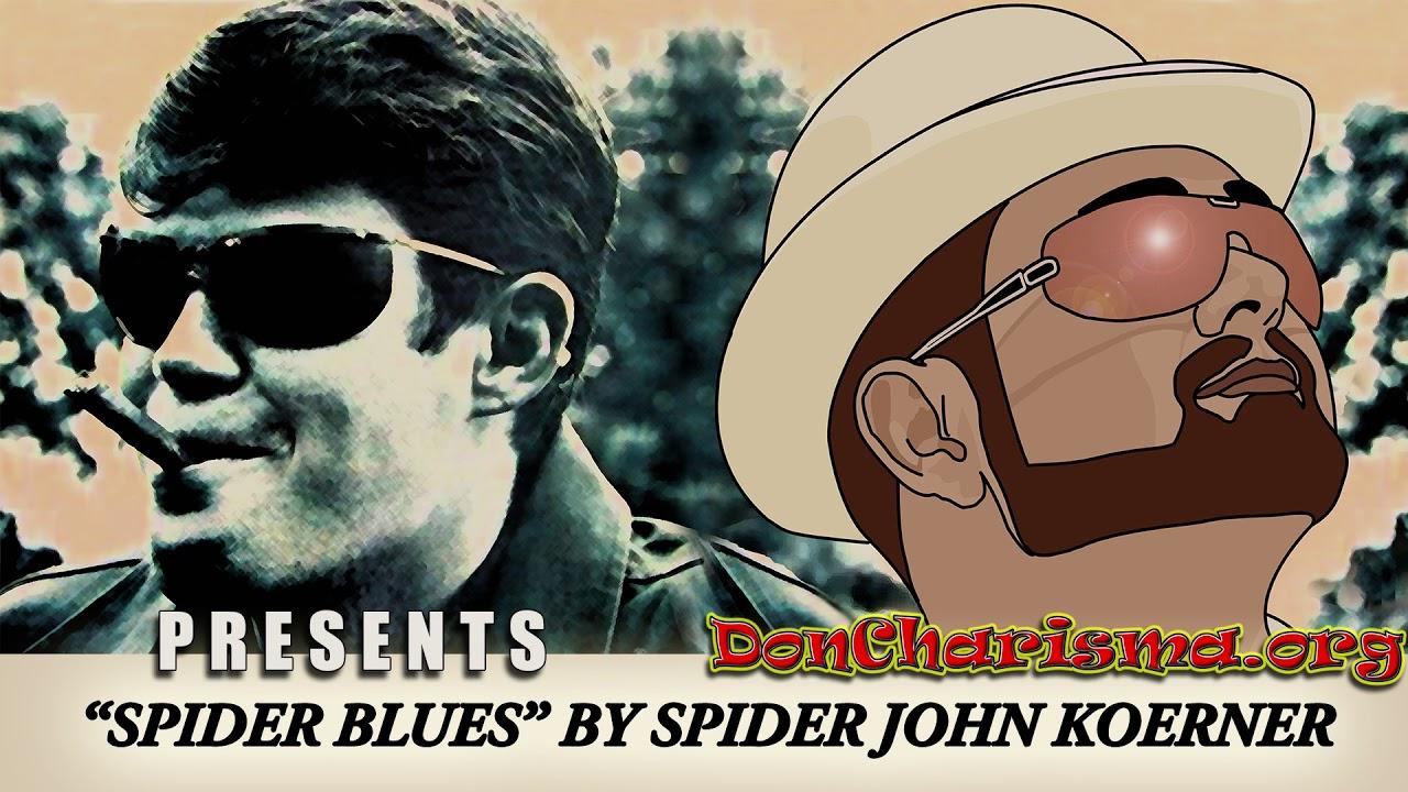 """Spider Blues by """"Spider"""" John Koerner"""