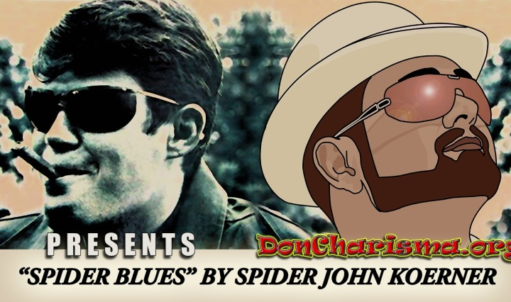 "Spider Blues by ""Spider"" John Koerner"