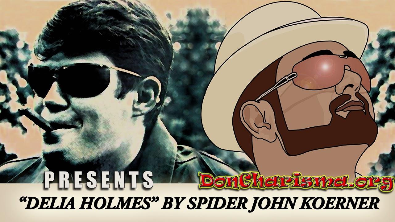 "Delia Holmes by ""Spider"" John Koerner"
