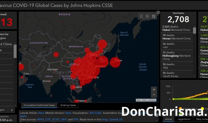 john hopkins coronavirus map don charisma doncharisma