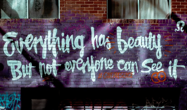 quote quotes wall, wall,art,graffiti,colors,quote, DON CHARISMA