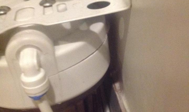 water filter broken