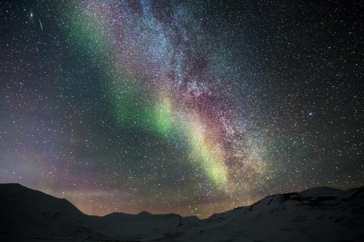 aurora,polar lights,northen lights,aurora borealis,ice,adventure,stars,arctic,snowy,landscape,cold,night,nature,phenomenon, DON CHARISMA