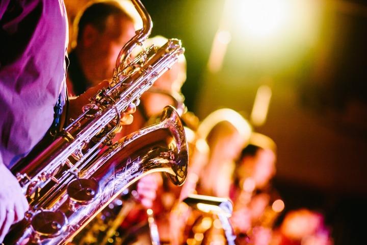 band,music,musical instruments,saxophones,horns,concert,show,entertainment,musicians,DON CHARISMA