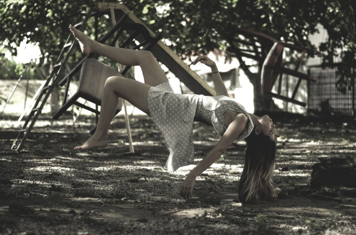 levitation,young woman,in the air,falling down,photography,model,fashion,art,body,portrait,photo,photographer,approach,flight,chairs, DON CHARISMA