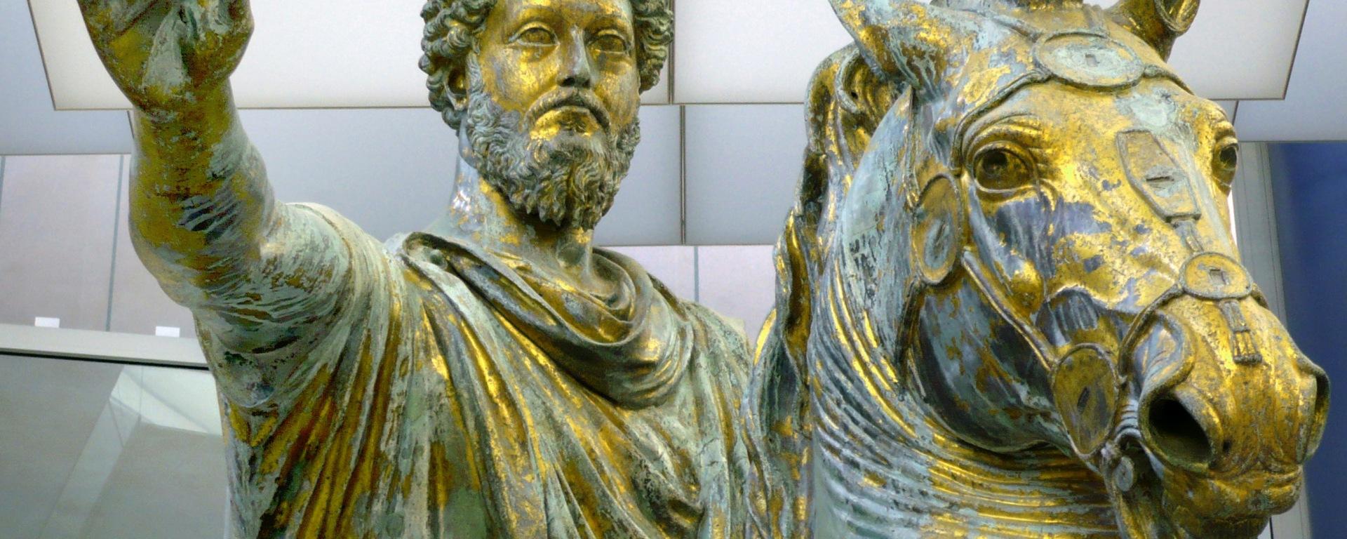 Marcus Aurelius, Bronze, DONCHARISMA, Marco_Aurelio_bronzo.wikip.pub.domain