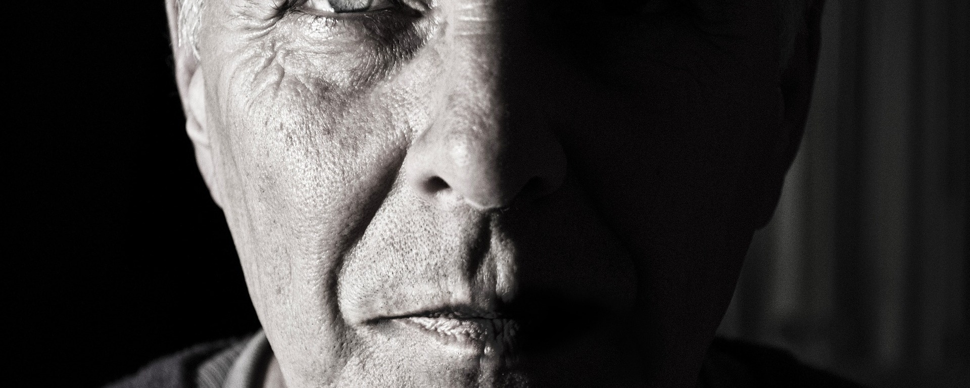 face,portrait,man,elderly,determined,character,strong,old,wrinkled,male,head,phantom,shadow,eye,expression,person,mouth,nose,human,skin,DON CHARISMA