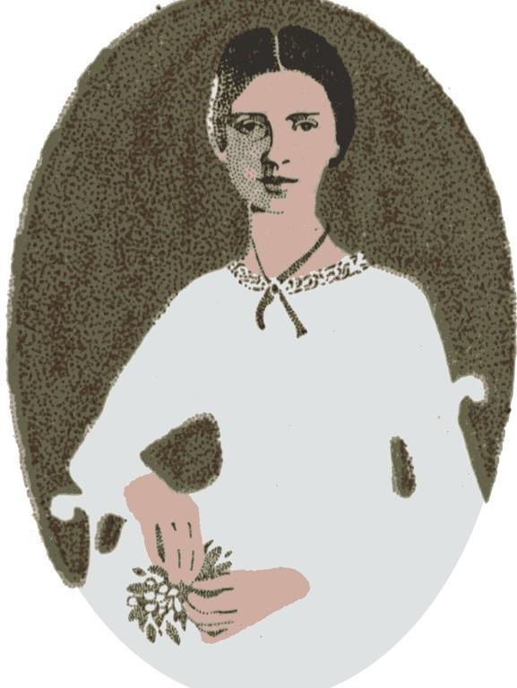 Emily Dickinson, Art, DON CHARISMA