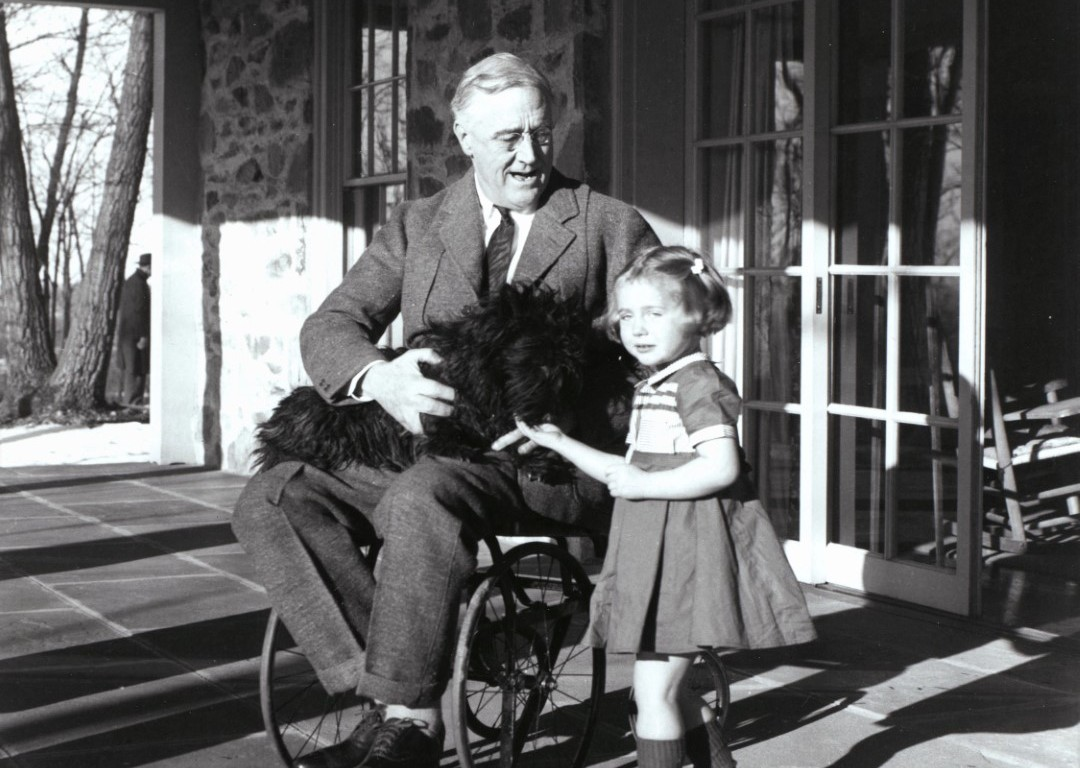 Franklin D. Roosevelt, Wheelchair. February. 1941, doncharisma