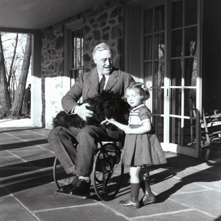 Franklin.D.Roosevelt, Wheelchair. February. 1941, doncharisma