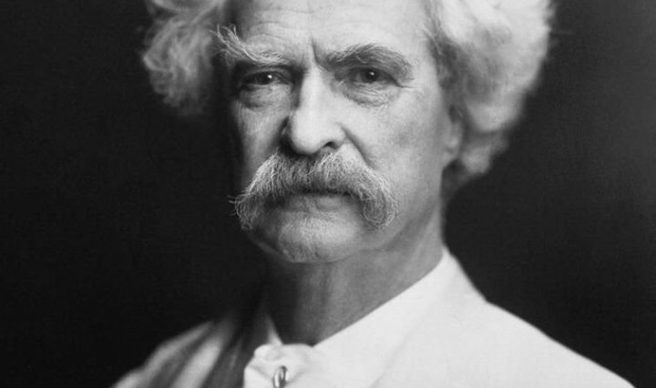 Mark Twain by AF Bradley, DON CHARISMA