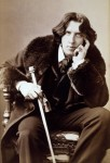 Oscar Wilde. Photo by Napoleon Sarony. One of a series taken upon his arrival in New York City in 1882. DON CHARISMA